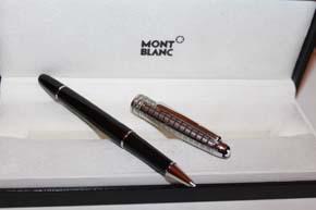 Montblanc Meisterstück N° 163 Stainless Steel Doue´ II Roller Ball