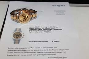 Rolex Daytona Cosmograph Ref. 16523 in Stahl / Gold aus 1994 mit Zenith Werk
