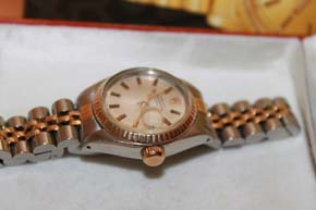 Rolex Oyster Perpetual Date Just in Stahl / Gold