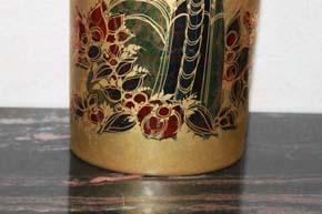 Rosenthal - Björn Wiinblad GROßE Scheherazade Vase 32 x 14 x 10 cm Handgemalt