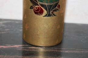 Rosenthal - Björn Wiinblad GROßE Scheherazade Vase 36 x 8 cm Handgemalt