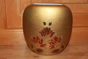 Rosenthal - Björn Wiinblad * Scheherazade * Jubiläums Vase 22 x 20 x 6 cm TOP